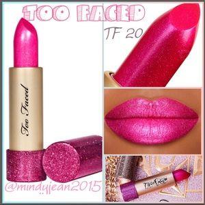 Too Faced Makeup - TOO FACED METALLIC SPARKLE LIPSTICK💕TF 20